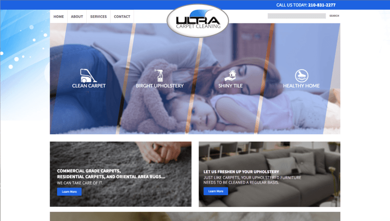 Ultra Carpet Cleaning DSE Creative Web Design San Antonio
